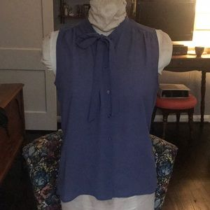 Levi's sheer grey blouse